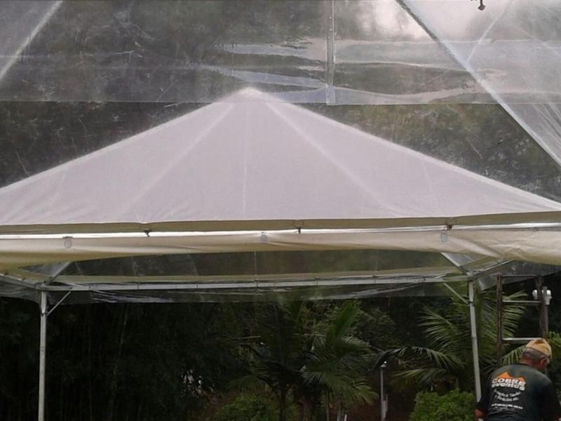 Alugar Tenda Cristal para Evento Empresarial Araçoiaba da Serra - Tenda Cristal 10x10