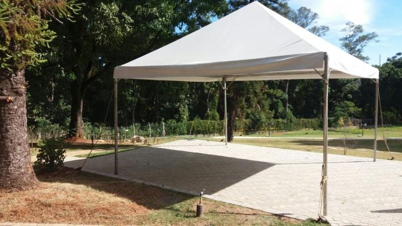 Aluguel de Tenda 5x5 Valor Capela do Alto - Aluguel de Tenda