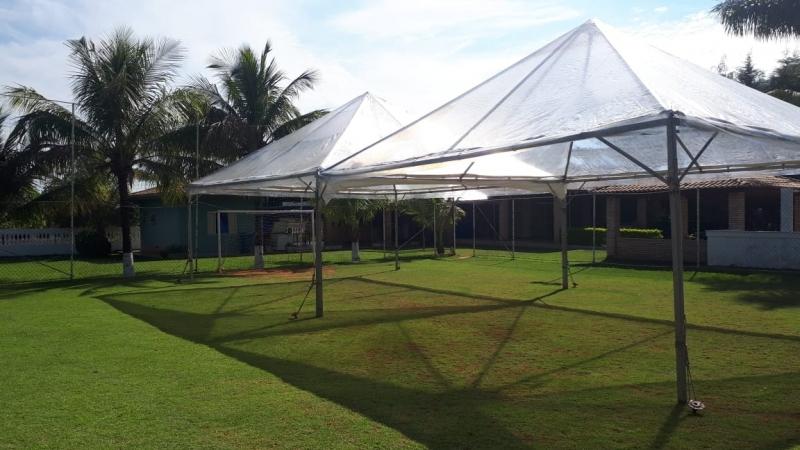 Aluguel de Tenda Cristal Valor Votorantim - Aluguel de Tenda para Casamento