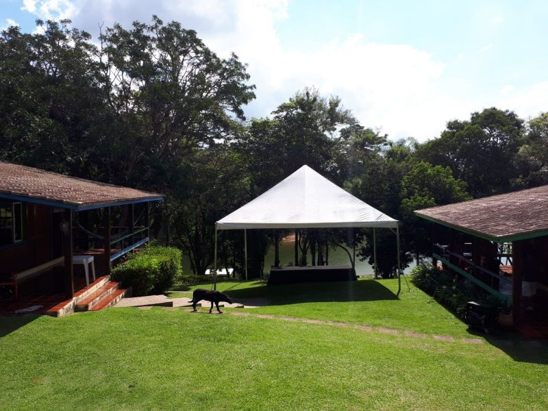 Aluguel de Tenda Piramidal 6x6 Barato Itu - Aluguel de Tenda para Casamento