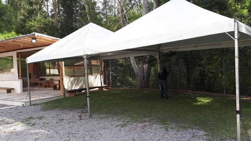 Aluguel de Tenda Pirâmides 4x4 Araçoiaba da Serra - Tenda Pirâmides
