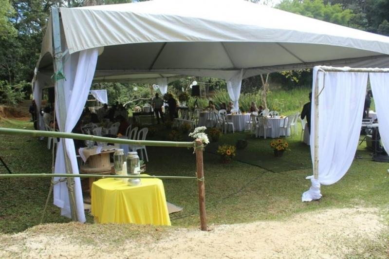 Locação de Tendas Festas Valor Alumínio - Locação de Tenda 10x10 para Eventos