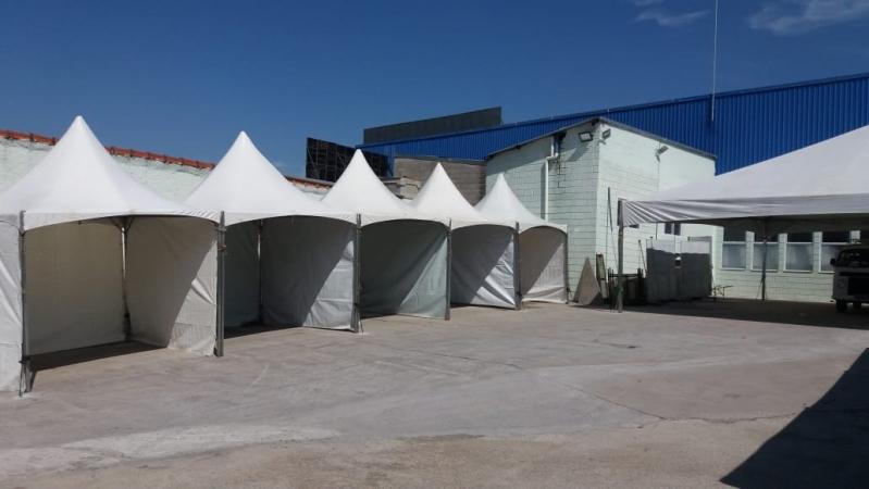 Locação de Tendas para Eventos Empresariais Preço São Roque - Locação de Tenda 10x10 para Eventos
