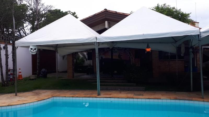 Preço Aluguel de Tenda Piramidal 6x6 Piedade - Aluguel de Tenda