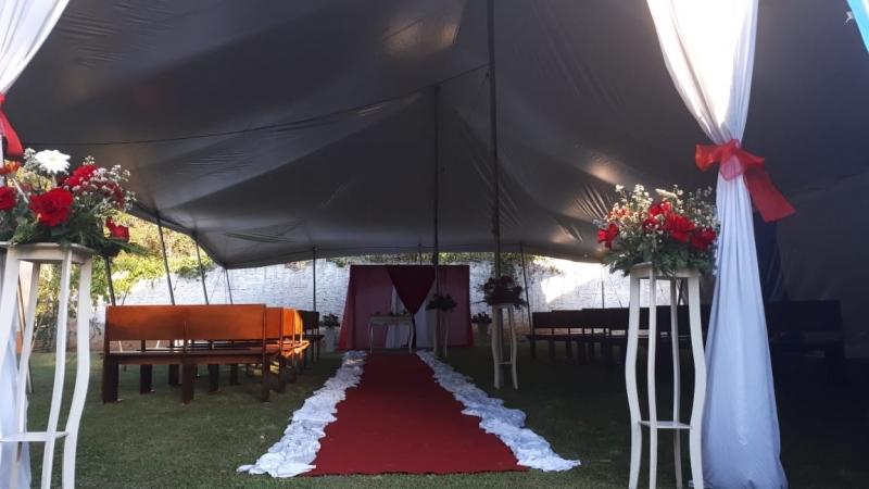 Preço da Locação de Tenda para Casamento Alumínio - Locação de Tenda 10x10 para Eventos