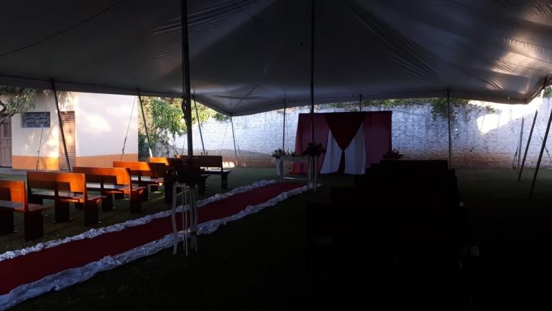 Preço de Locação de Tenda para Casamento Sorocaba - Locação de Tenda para Festa de Casamento