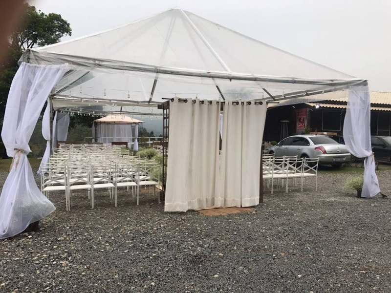 Tenda Cristal Casamento Aluguel Ibiúna - Tenda Cristal para Evento ao Ar Livre