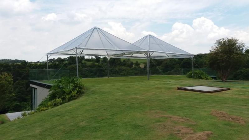 Tenda Cristal para Evento ao Ar Livre Sorocaba - Tenda Cristal 10x10