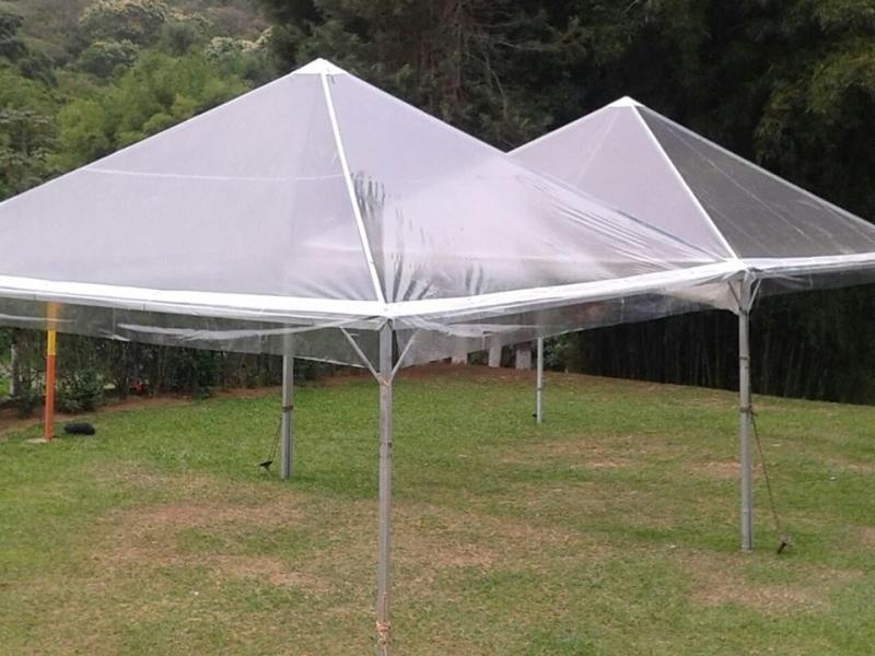 Tenda Cristal para Evento Empresarial Preço Alumínio - Tenda Cristal 10x10