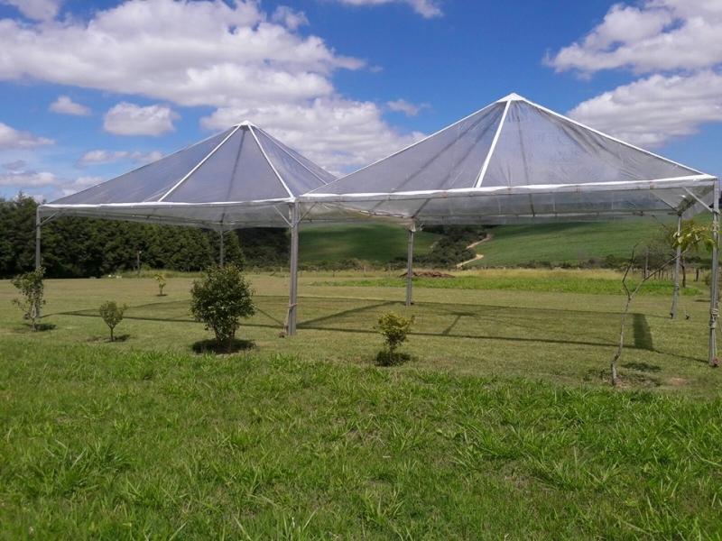 Tenda Cristal para Evento Empresarial Valor Salto de Pirapora - Tenda Cristal 10x10