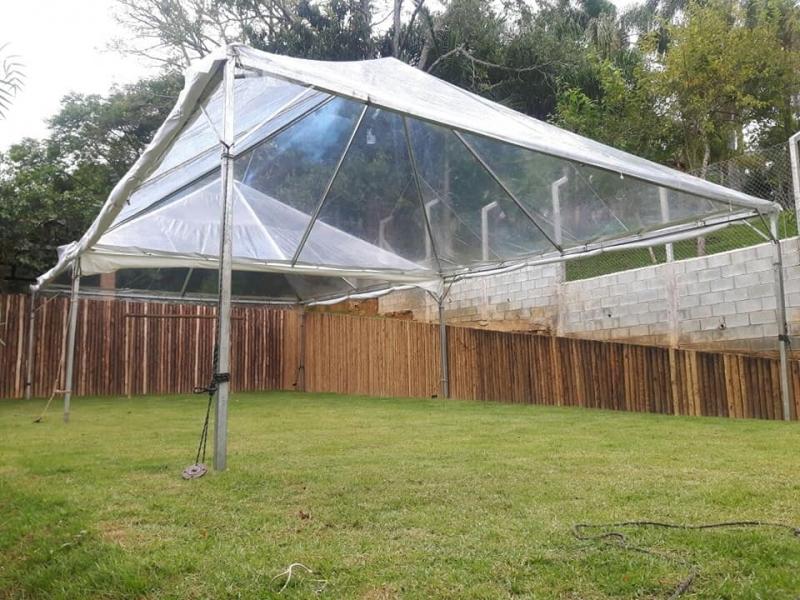Tenda Cristal para Evento Valor Alumínio - Tenda Cristal 10x10