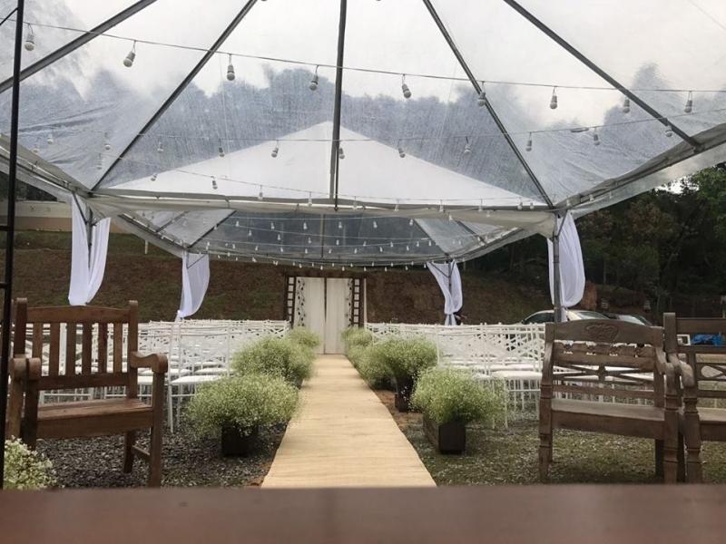 Tenda Cristal Piramidal Valor Votorantim - Tenda Cristal para Evento Empresarial