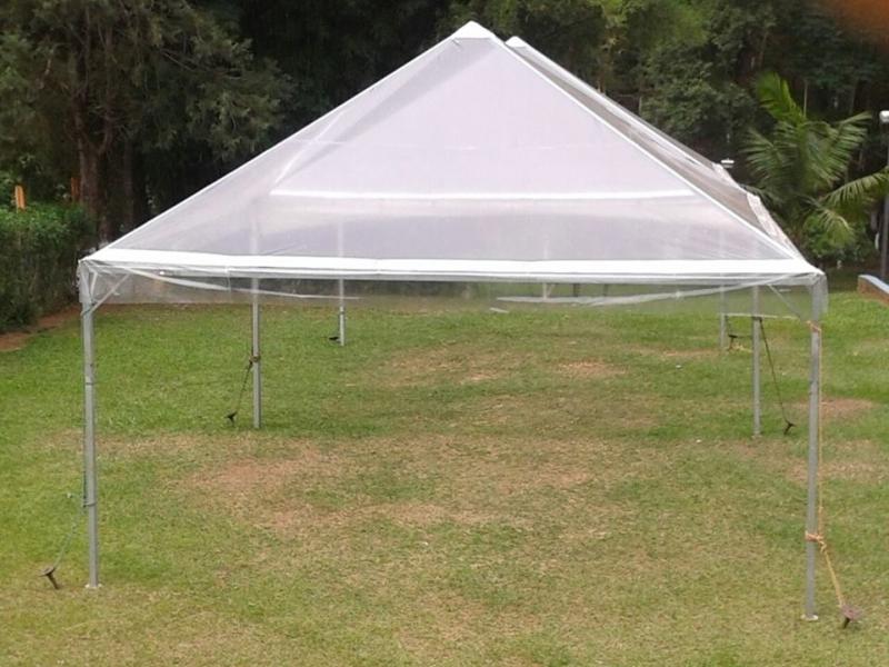 Tenda de Cristal Aluguel Alumínio - Tenda Cristal para Evento ao Ar Livre