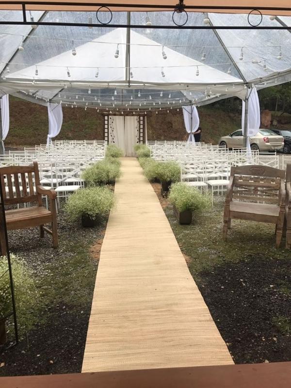 Tenda de Cristal Casamento Valor Ibiúna - Tenda Cristal para Evento Empresarial