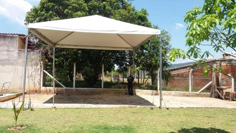 Tenda Pirâmides 4x4 Preço São Roque - Tenda Pirâmides