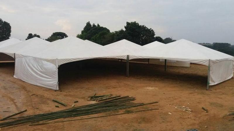 Tenda Pirâmides para Eventos Salto - Tenda Pirâmides 10x10