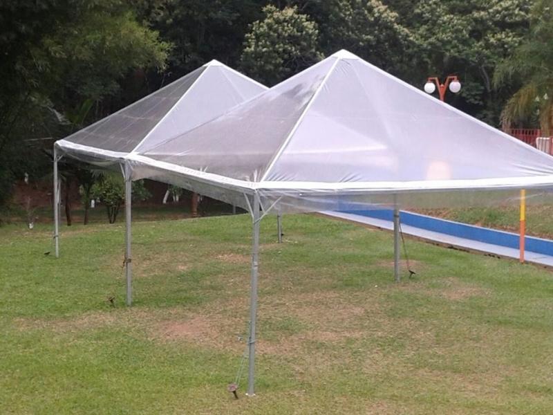 Tenda Pirâmides Transparente Preço Sorocaba - Tendas Piramides 3x3 Mts