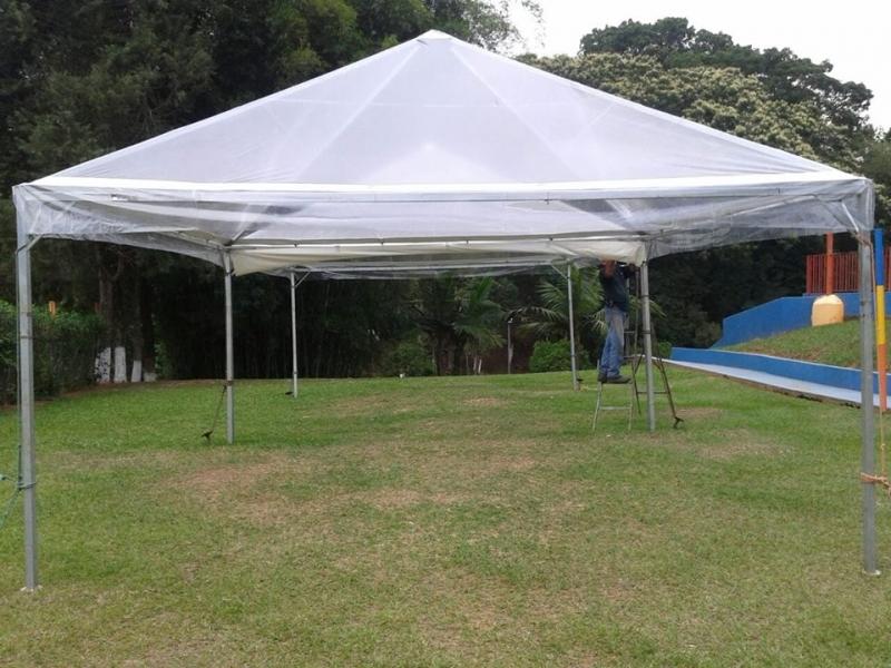 Tenda Pirâmides Transparente Valor Itu - Tendas Piramides 3x3 Mts
