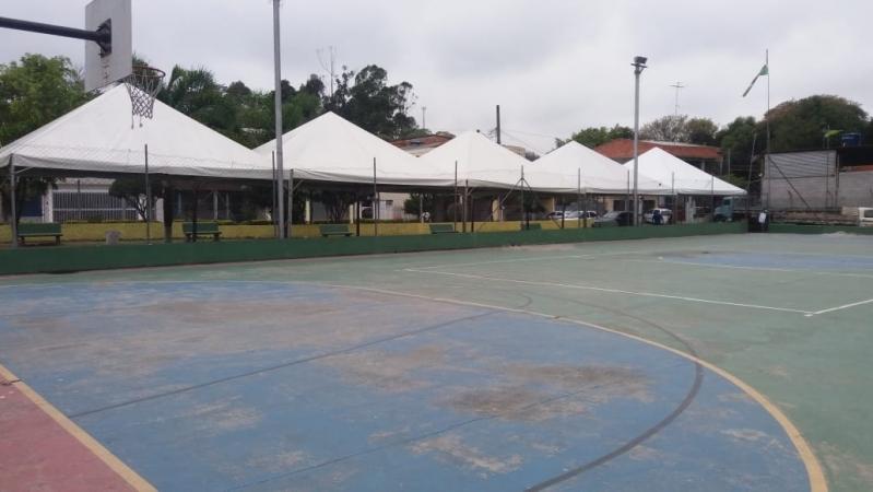 Tenda Pirâmides Ibiúna - Tenda Pirâmides 5x5