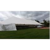 aluguel de tenda grande São Roque