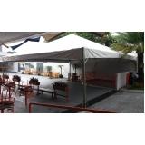 aluguel de tenda para festa Alumínio