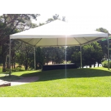 aluguel de tenda piramidal 6x6 valor São Roque