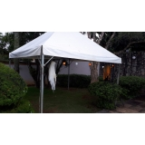 aluguel de tenda piramidal 6x6 Capela do Alto