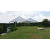 aluguel de tenda pirâmides transparente Cotia