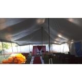 aluguel de tendas para eventos barato Salto de Pirapora