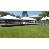 aluguel de tendas para eventos Alumínio