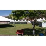 aluguel de tendas piramides 3x3 mts Capela do Alto