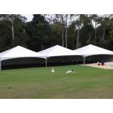 locação de tenda 10x10 para eventos preço Salto de Pirapora