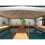 locação de tenda 10x10 para eventos valor Araçoiaba da Serra