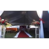 locação de tenda modelo circo 12x25 mts preço Itu