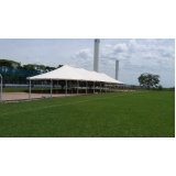 locação de tenda modelo circo 16x38 mts Salto