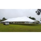 locação de tenda modelo circo 20x50 mts Salto