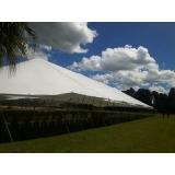 locação de tenda modelo circo para eventos preço Alumínio