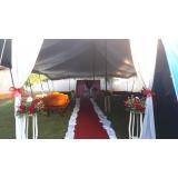 locação de tenda modelo circo para eventos Mairinque