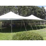locação de tenda modelo circo valor Salto de Pirapora