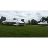 locação de tenda modelo circo14x30 mts preço Mairinque