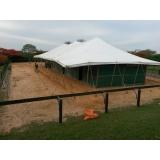 locação de tenda para festa preço Alumínio