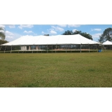 locação de tenda para festa Itu