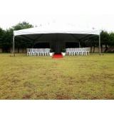 locação de tenda pirâmides para casamento São Roque