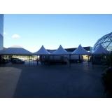 locação de tenda pirâmides Votorantim