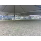 locação de tendas e coberturas valor São Roque