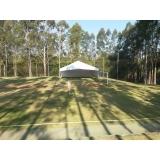 locação de tendas e coberturas Capela do Alto