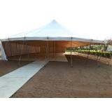 locação de tendas festas preço São Roque