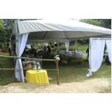 locação de tendas festas valor Cotia
