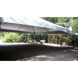 locação de tendas grandes valor Alumínio