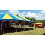 locação de tendas grandes Capela do Alto